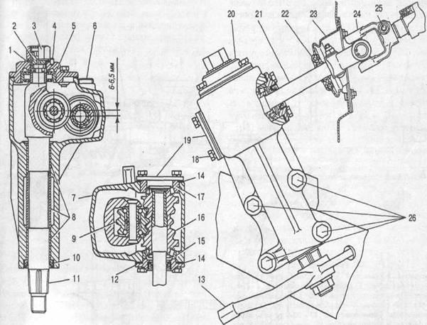 Рулевой механизм: